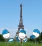 Illustration de couverture Découvrir Paris en famille