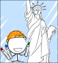 Illustration de couverture Je colorie New York