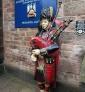 Joueur écossais de cornemuse