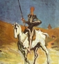 Don Quichotte par Honoré Daumier via Wikimedia Commons