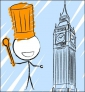 Illustration de couverture Je cuisine à Londres