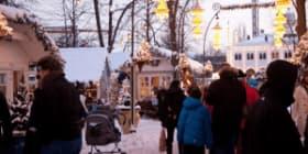 Marché de Noël de Copenhague à Tivoli par Kim Wyon