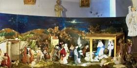 La crèche de Noël via Wikimedia Commons