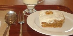 Carrot cake, visitor center, Croagh Patrick