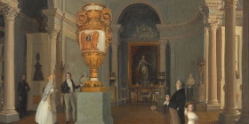 The Oval Hall of the Old Hermitage, 1829 par Beggrov Karl Petrovich