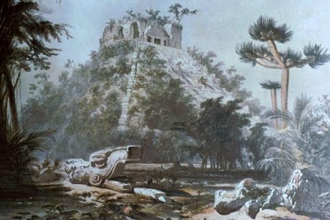 Chichen Itza vu par Frederick Catherwood