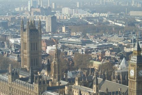 Londres vue du London Eye