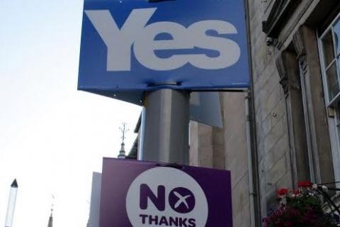Yes ou No à l'indépendance