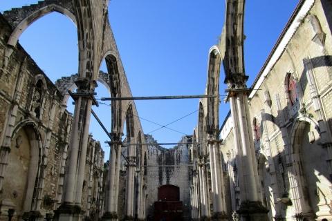 Les ruines de l'église du Carmo