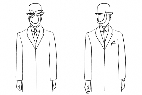 L'homme à la pomme de Magritte, Je découvre Bruxelles par Equipe GlobeKid | GlobeKid