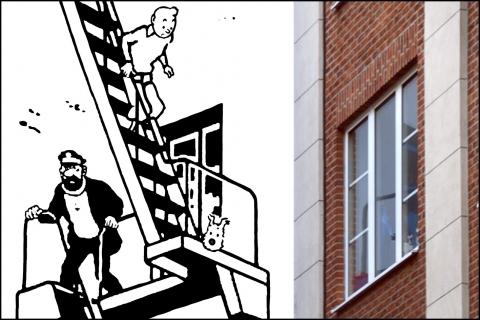 Papier Peint Tintin Et Milou tintin et milou, je découvre bruxelles par equipe globekid | globekid