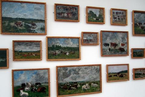 Les vaches du Musée Malraux