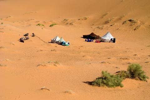 Campement dans le désert de Chebbi