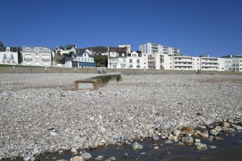 Le bord de mer au Havre