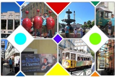 Le centre-ville de Lisbonne