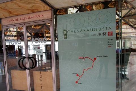 Le forum romain de Saragosse