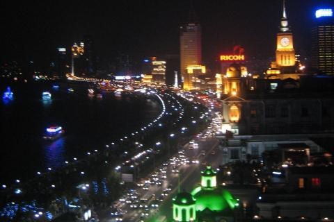La nuit à Shanghai