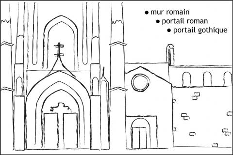 Cathédrale Saint Sauveur par Nicolas Lebra