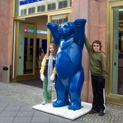 L'ours symbole de Berlin par ChristinaT via Flickr