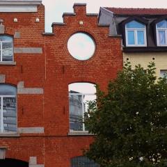 Les facades étroites, typiques de Bruxelles par isamiga76 via Flickr