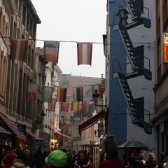 Centre-ville de Bruxelles par Sunfox via Flicrk