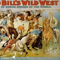 Buffalo Bill Wild West Show via Wikimedia Commons