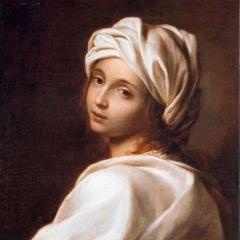Portrait de Beatrix Cenci attribué à Guido Reino via Wikimedia Commons
