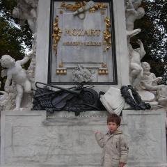 Monument Mozart par KJ
