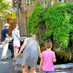 La fontaine moussue par AVO