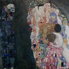 Tod und Leben par Gustav Klimt via Wikimedia Commons