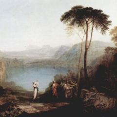 La fondation d'Albe par William Turner via Wikimedia Commons