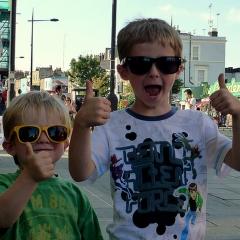 Kids à Camdem par John Catnach via Flickr