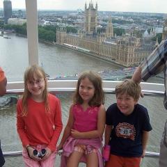 Londres vu de London eye par monagrrl via Flickr
