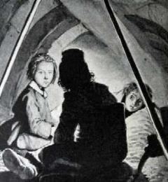 Le lit de Gavroche à partir d'une illustration de Lewis Moe via Pontauchange.com