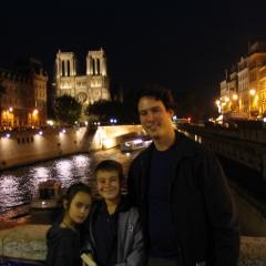 Nuit à Paris par Mind on fire via Flickr