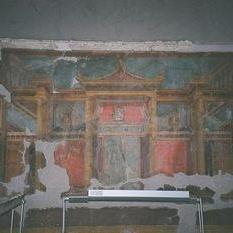 Fresque de Pompéi par Salomé