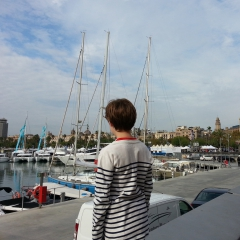 Port de Barcelone par NB
