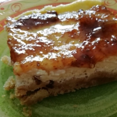 Cheese cake avec topping de figues