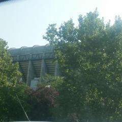 Le stade du Bernabeu par Salomé