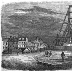 Vue de la place de la Bastille par Wattier via Wikimedia Commons