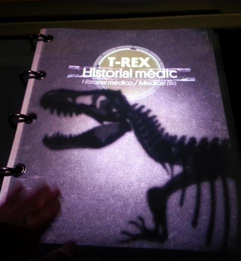 T-Rex dossier médical