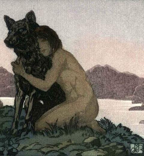 Illustration de Maurice Becque