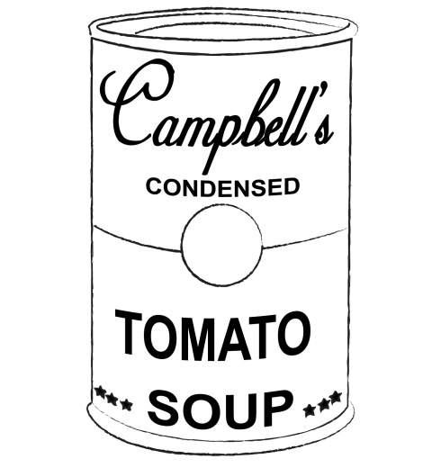 campbells soup coloring pages - photo#7