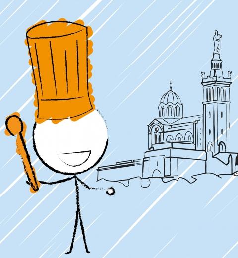Je cuisine à Marseille