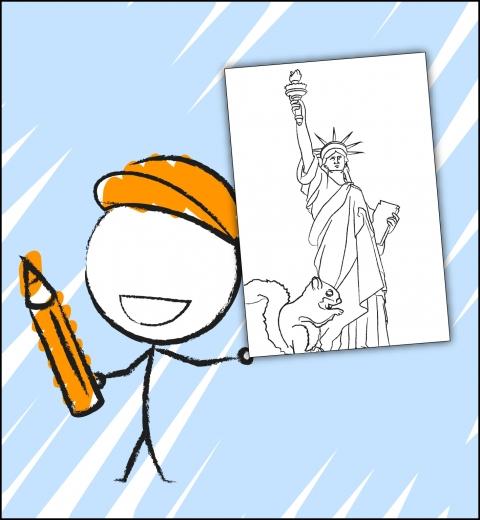 Illustration de couverture Je découvre New-York