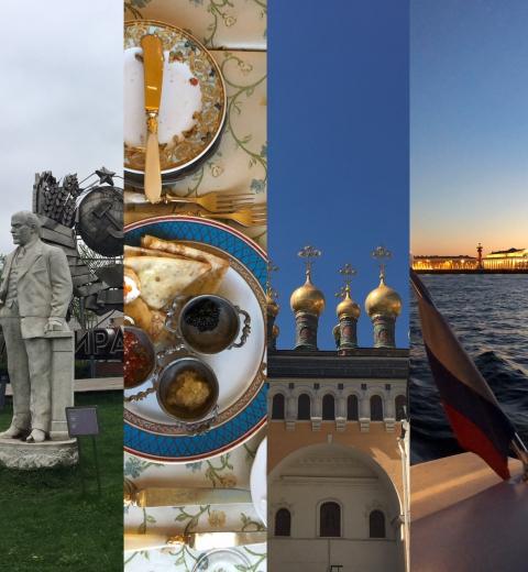 Moscou Saint-Pétersbourg : une semaine en Russie