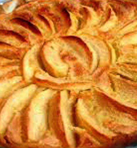Tarte aux pommes via Wikimedia Commons